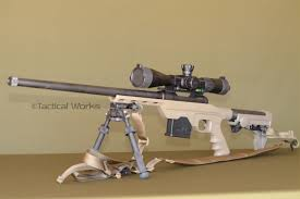 mdt u0027s lss chassis in fde savage model with ergo f93 pro stock ai