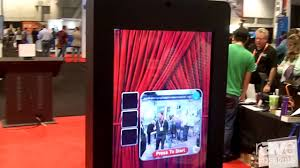 digital photo booth dse 2016 ts microtech features photo booth digital signage kiosk