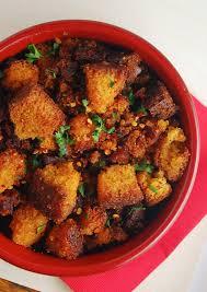spicy cornbread chorizo always order dessert
