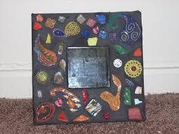 mosaic mirror sorta kinda head board ikea hackers ikea hackers