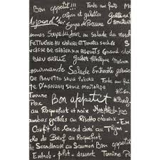 Le Poeme Indoor Outdoor Rug Area Rug With Script Writing Uniquely Modern Rugs