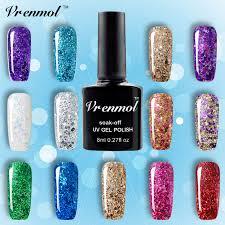 aliexpress com buy vrenmol 3d diamond glitter gel nail polish