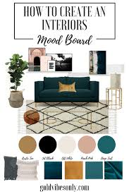 Interiors Home Decor How To Create An Interiors Home Decor Moodboard
