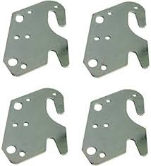amazon com 10 bed rail hooks plate adapter kit for wooden
