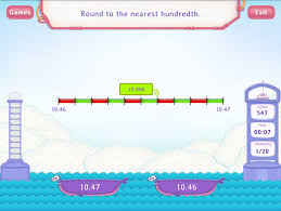 round decimals to the nearest hundredth worksheets 5th grade math