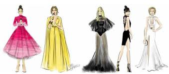 american music awards 2016 sketches by emily brickel edelson