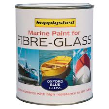 marine gloss fibreglass boat paint a variety bright colours 750ml