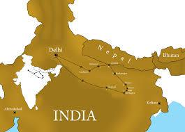 Varanasi India Map by Ibntours