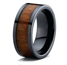mens wood wedding bands mens wood wedding ring slidescan