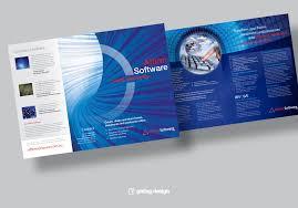brochure design software 4 page brochure design software company girling design studios
