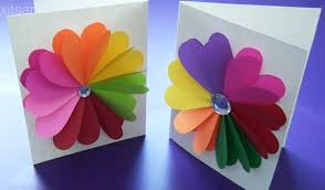 handmade cards diy easy handmade greeting cards how to make paper cards