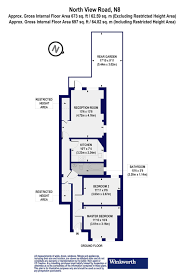 floor plan area calculator 2 bedroom property for sale in north view road london n8 599 950