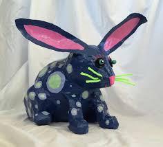 paper mache rabbit paper mache molly mains