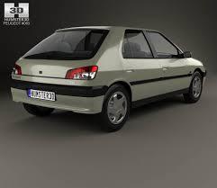 peugeot door peugeot 306 5 door hatchback 1993 3d model hum3d