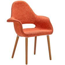 amazon com poly and bark organic arm chair orange set of 2 amazon com poly and bark organic arm chair orange set of 2 chairs