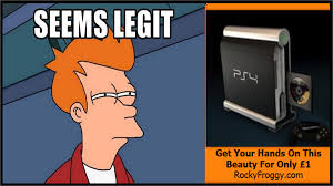 Fry Meme - fry meme fake ps4 seems legit by borgster93 on deviantart