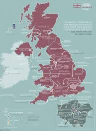 Camping World Locations Map by New Map Of Britain Shows Where All Our Favourite Tv Shows Were