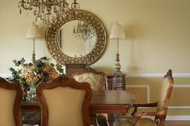 wall decor dining room dining room carved frame circle mirror dining room wall decor