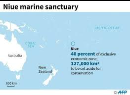 niue on world map pacific s niue creates marine sanctuary