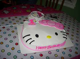 hello kitty 1st birthday cake ideas image inspiration of cake