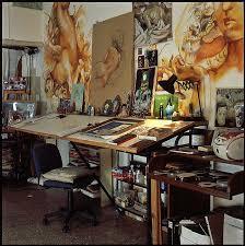Light Up Drafting Table La Sala Nro 7 Mercado Artwork Spaces And Studios