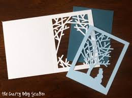 how to make into the woods handmade cards
