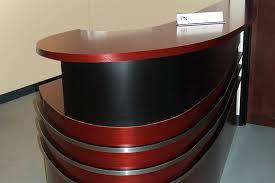 Metal Reception Desk Our Unique Reception Desks Include This Curvy One