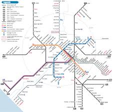 Map Of Metro In Rome by Italy Ireland