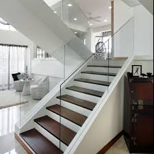 Glass Staircase Banister 20 Glass Staircase Wall Designs With A Graceful Impact On The