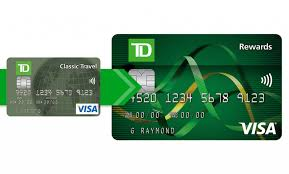 travel rewards images Overview td classic travel visa card jpg
