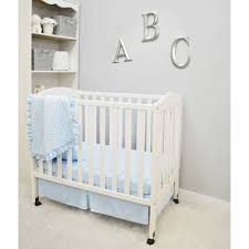 Off White Baby Crib by Mini Crib Beddings