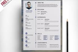 Resume Psd Template Freebie Resume U0026 Cover Letter Template Free Psd Graphics By Psd