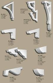 Mission Style Corbels Polyurethane Angled Eave Brackets Dream House Portfolio