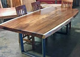 live edge round table petrified wood dining table natural or live edge wood slab for
