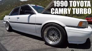 camry 1990 toyota camry turbo youtube