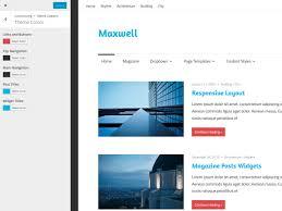 colors home page maxwell pro u2013 themezee