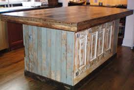 kitchen with large island large island made from reclaimed doors and bc fir top industrial