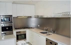 plaque credence cuisine crédence de cuisine en inox brossé cuisine and steel