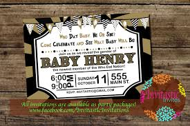 new orleans football gender reveal invitation new orleans