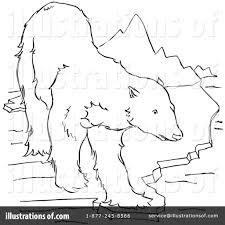 polar bear clipart 1129277 illustration by picsburg