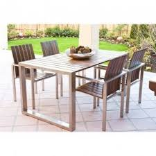 Steel Patio Table Stainless Steel Patio Tables Foter