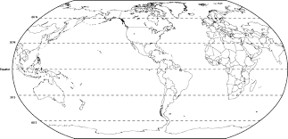 Map Showing Equator Blank World Map With Latitude And Longitude Best Photos Of And