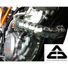 motocross bike parts acd racing new mx universal 4 stroke exhaust shield motorcycle