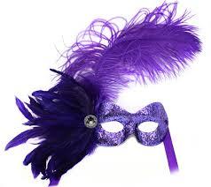 purple masquerade mask purple glitter womens masquerade mask with trim