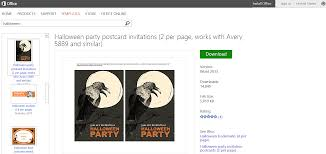 halloween party e invitations free halloween templates and printables for microsoft office