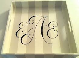 monogrammed serving dishes 106 best trays serving tiered desert cake stands images on