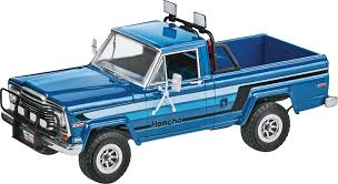 jeep model kit revell 1 24 80 jeep honcho patrol plastic model kit