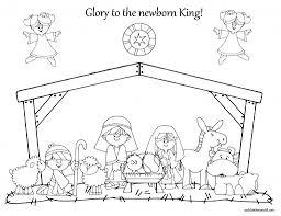 nativity coloring pages for preschool www kibogalerie com