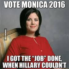 Monica Lewinsky Meme - hillary clinton meme 9 funny pinterest monica lewinsky