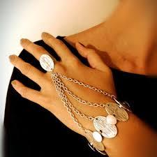 bracelet ring silver images Shop slave ring jewelry on wanelo jpg